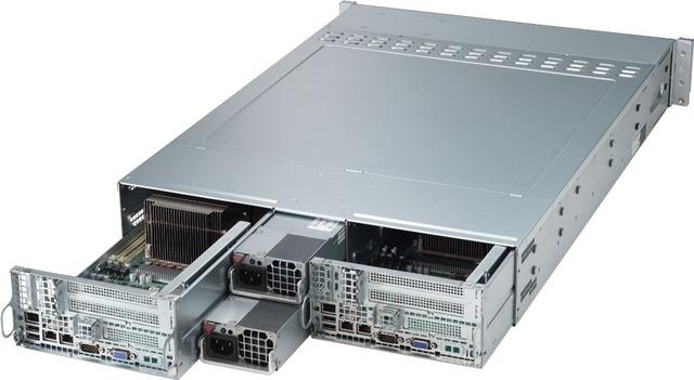 Сервер RackNode™ 2U TWIN Dual System Xeon 19