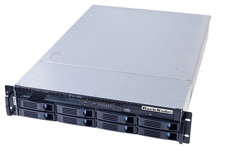 СХД RackNode™ iSCSI 8xHDD 2U 19