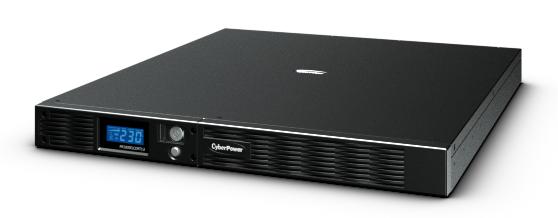 CyberPower ИБП Line-Interactive PR1000ELCDRT1U 1000VA/670W USB/RS-232/EPO/SNMPslot/ 1U для установки в стойку 19