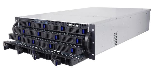 Система хранения данных iSCSI SAN 16xHDD 3U 19