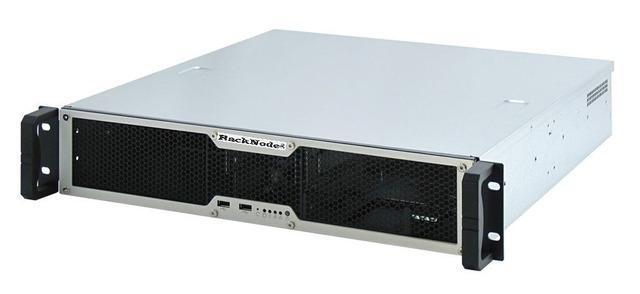 Промышленный безвентиляторный сервер RackNode™ 2U Core i3/i5/i7/i9 Gen11 19