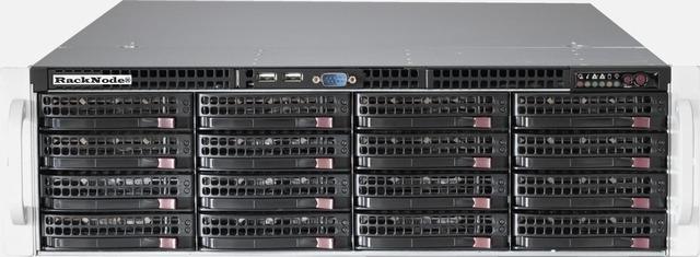 Дисковая полка RackNode™ Dual Cluster JBOD 3U 19