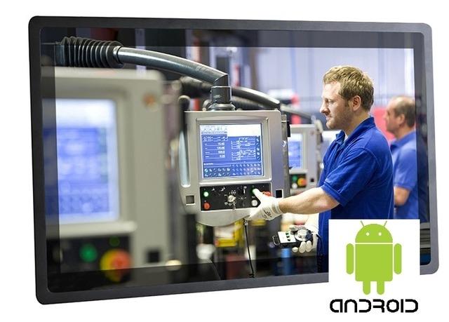 Сенсорный панельный компьютер Android TouchNode™ LCD 24