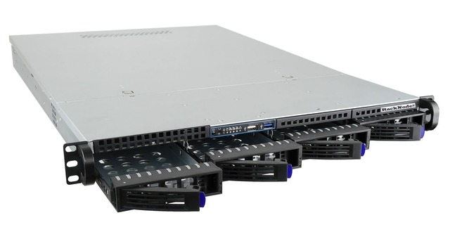 Сервер RackNode™ 1U Intel Xeon-E 19
