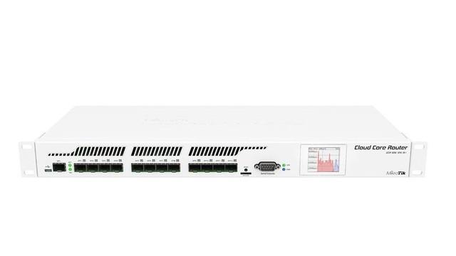 Маршрутизатор MikroTik 12xSFP /1xSFP+ CCR1016-12S-1S+ для установки в стойку 19