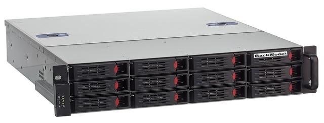 Сетевое хранилище iSCSI 12xHDD 2U 19
