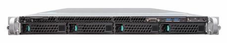 Сервер Intel R1304WT2GSR 1U Xeon E5-2600v4 19