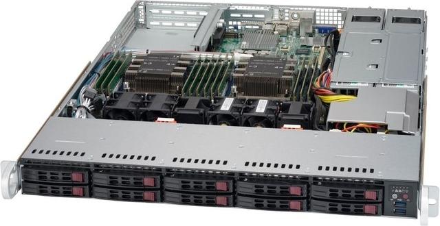 Сервер RackNode™ 1U Dual Xeon Gold/Silver/Bronze 19