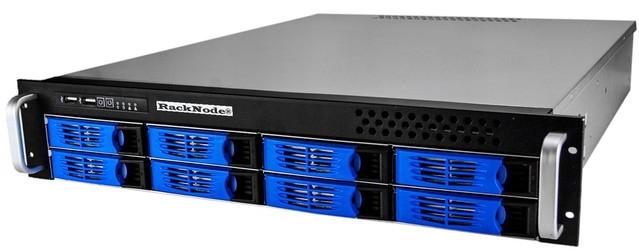 Сетевое хранилище iSCSI 8xHDD 2U 19