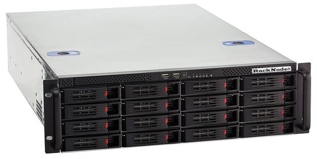 Сетевое хранилище iSCSI 16xHDD 3U 19