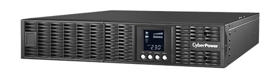 CyberPower ИБП Online OLS3000ERT2U 3000VA/2700W USB/RS-232/EPO/SNMPslot/RJ11/45/ВБМ/ 2U для установки в стойку 19
