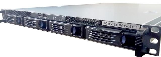 Сервер RackNode™ 1U Intel Xeon E 19