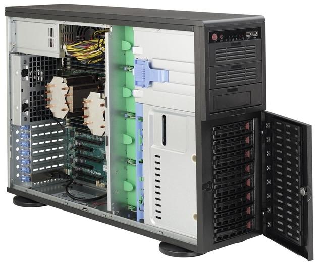 Сервер DeskNode™ Intel Dual Xeon Gold/Silver/Bronze 8x3.5